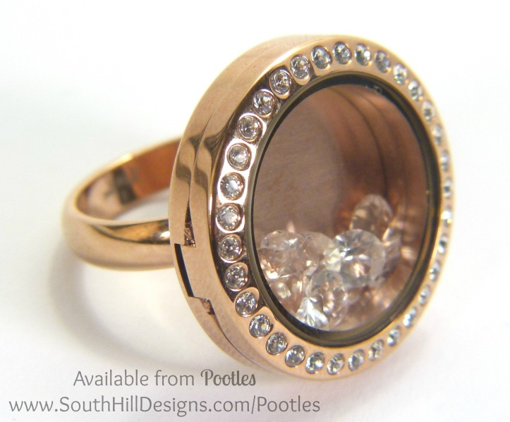 South Hill Designs - Ring and Bling Side Profile