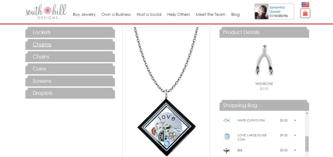 South hill designs locket designer