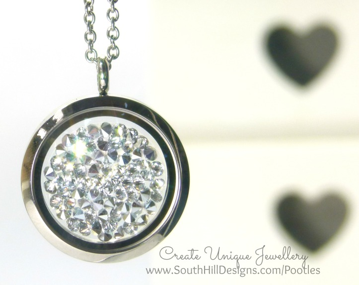 South Hill Designs - Silver Sparkle Hematite Embellishment