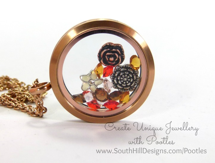 South Hill Designs & Stampin' Up! Sunday Irresistibly Yours Locket