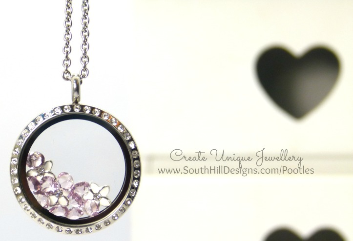 South Hill Designs & Stampin' Up! Sunday Mother's Day Locket Tutorial With June Birthstones