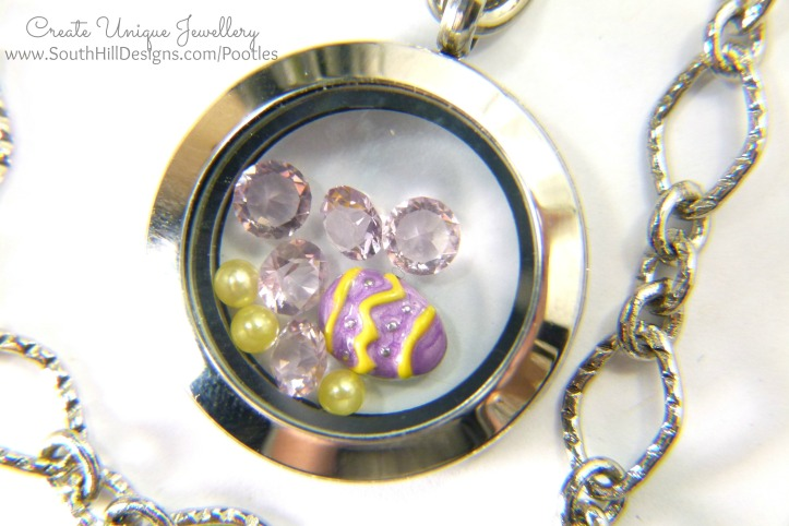 South Hill Designs - Easter Eggs and Lilacs And Chain