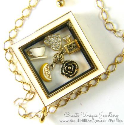 South Hill Designs - Elegantly Golden Close Up