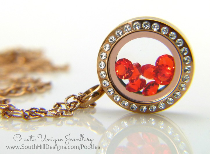South Hill Designs - Hyacinth Crystals meet Rose Golds and Sofia