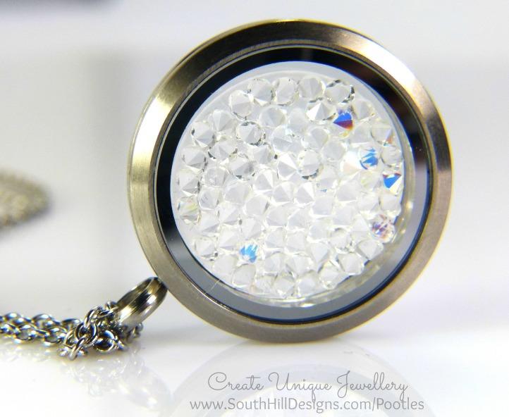South Hill Designs - Matte Silver Swarovski Crystals