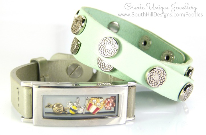 South Hill Designs - Silver Locket Bracelet Showcase 2