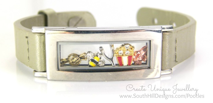 South Hill Designs - Silver Locket Bracelet Showcase