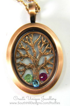 South Hill Designs - Tree of Life for Family Close Up