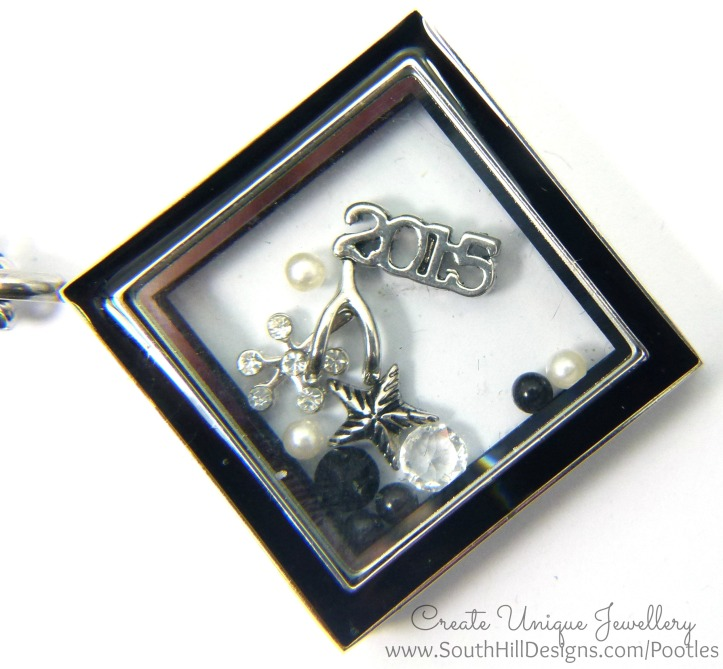 South Hill & Stampin' Up! Sunday 2015 is your year Locket Close Up (1)