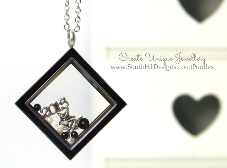 South Hill & Stampin' Up! Sunday 2015 is your year Locket Close Up (2)
