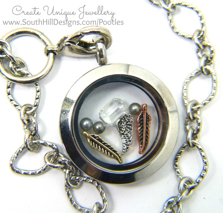 South Hill & Stampin' Up! Sunday Feather Charm & Joining Offers Yay! Detail