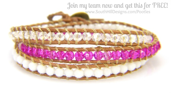 South Hill Designs - Joining Offer from ME! Brilliant Pink Wrap
