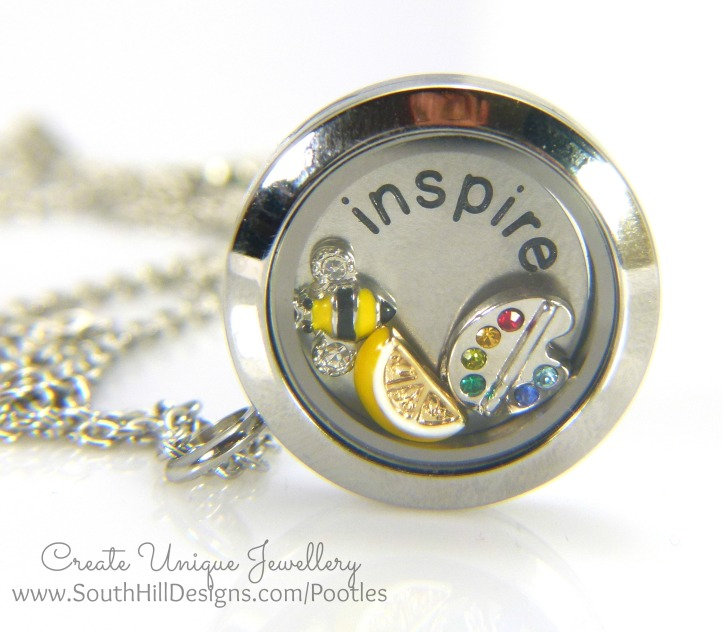 South Hill Designs & Stampin' Up! Sunday Inspire Locket
