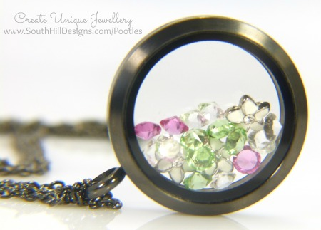South Hill Designs - Black Graphite Locket Giveaway