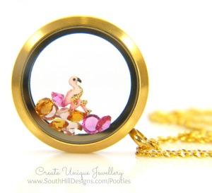 South Hill Designs - Golden Flamingo