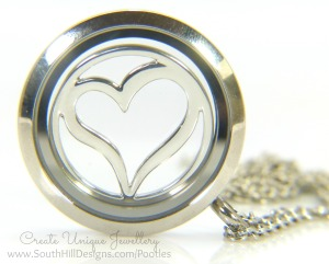 South Hill Designs - New Decorative Screens Silver Heart