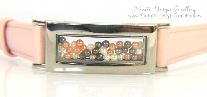 South Hill Designs - Pink Locket Bracelet