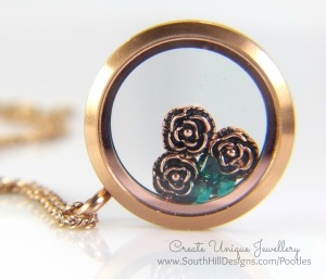 South Hill Designs - Rose Gold and Greens