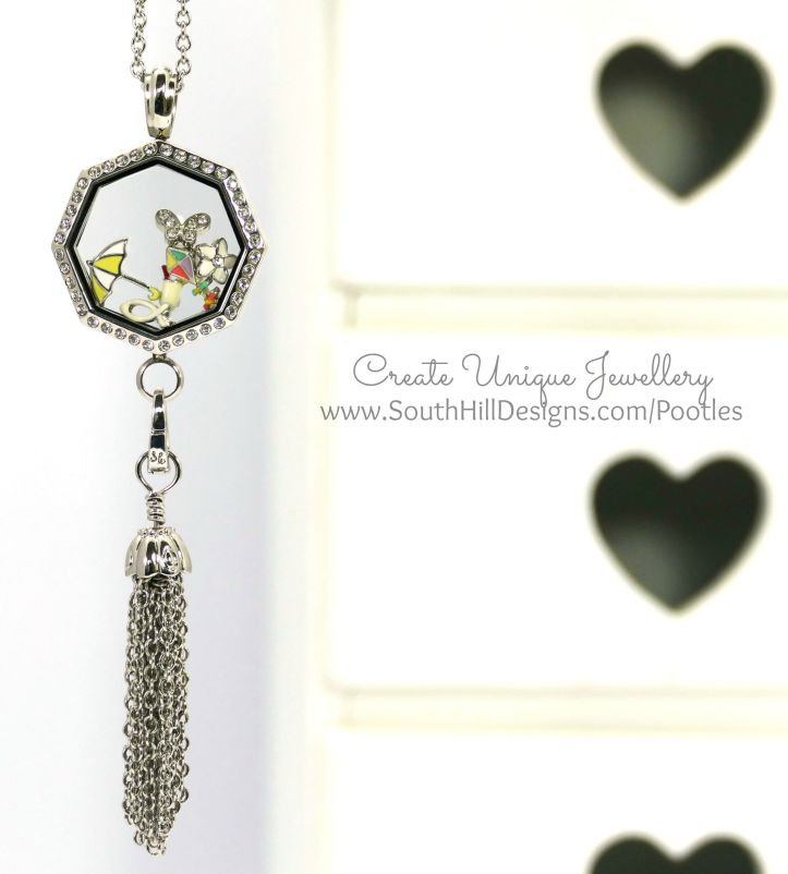 South Hill Designs - Octagonal Linkable Locket