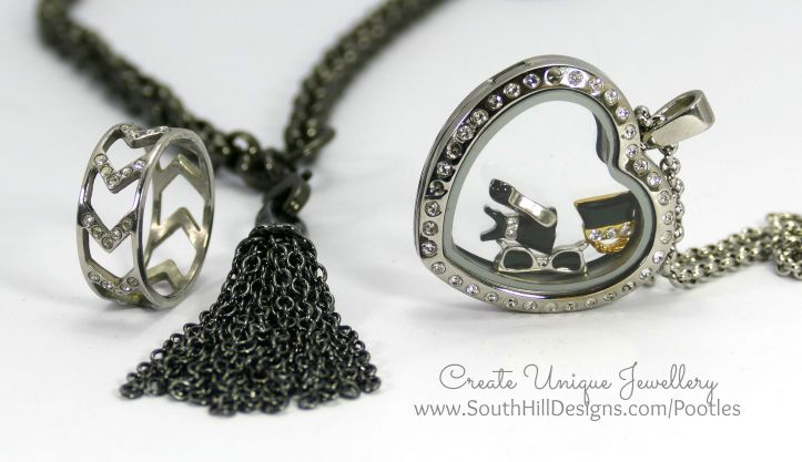 South Hill Designs - Silver Hearts and a Little Sass! Get the Look