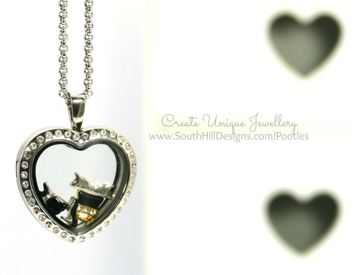 South Hill Designs - Silver Hearts and a Little Sass!