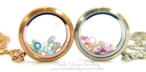 South Hill Designs & Stampin' Up! Sunday Baby Locket