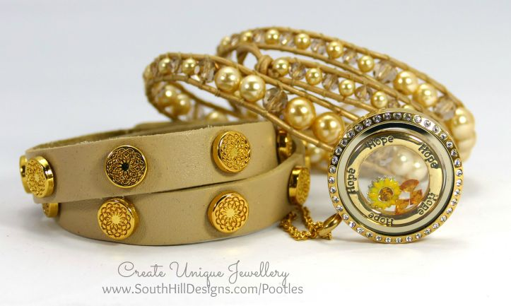 South Hill Designs - Sunshine Inspired Locket and Wraps