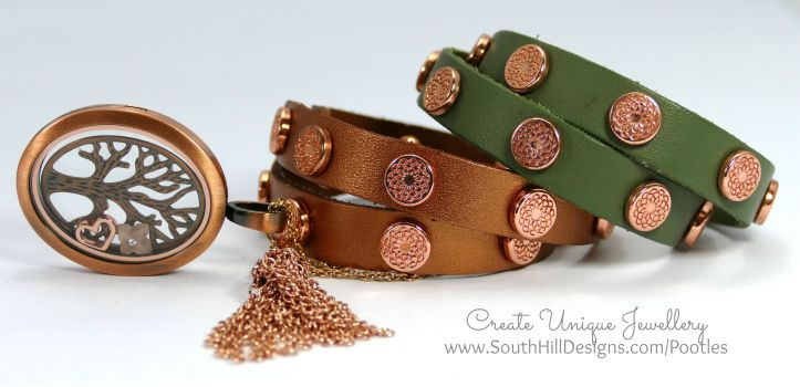 South Hill Designs - Rose Gold Tree of Life with Rose Gold Wraps