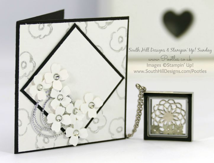 South Hill Designs & Stampin' Up! Sunday Diamond Lockets plus Joining Reminder!