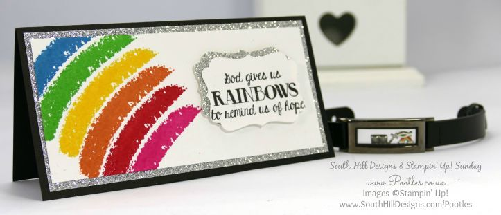 South Hill Designs & Stampin' Up! Sunday Rainbow Bracelet + last 2 days to join
