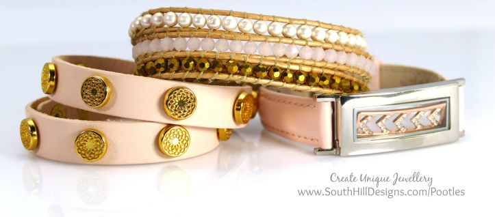 South Hill Designs & Stampin' Up! Sunday Wrist Accessories