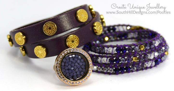 South Hill Designs - All about the Purples!
