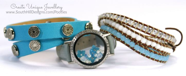 South Hill Designs - Blue, Round, Pretty! Wrist Collection