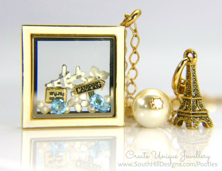 South Hill Designs - Let's Meet in Paris with Dropets