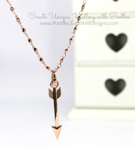 South Hill Designs - Arrows, Prisms and More! Rose Gold Hanging