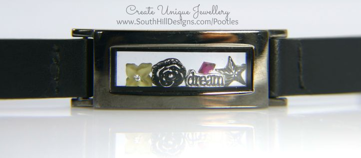 South Hill Designs - Black Locket Bracelet and more...
