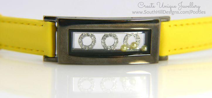 South Hill Designs - Bright Yellow and Octagons... Bracelet