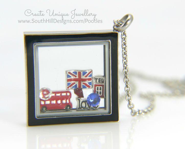 South Hill Designs - British Blue Black Diamond Close Up