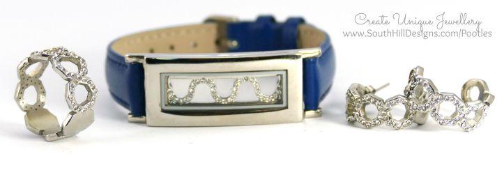 South Hill Designs - British Blue Ring, Bracelet, Earrings