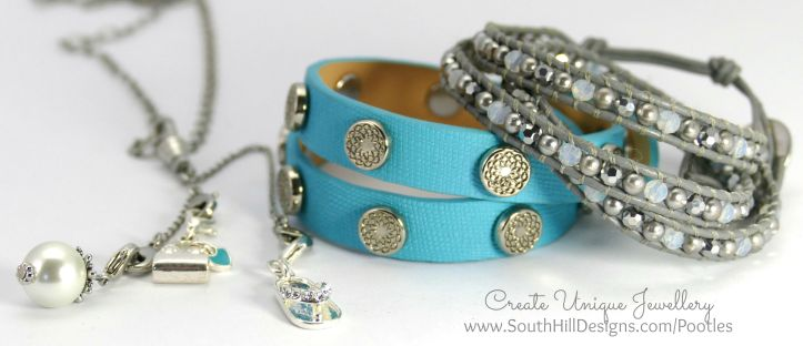 South Hill Designs - Droplets as Necklaces with Wrist Accessories