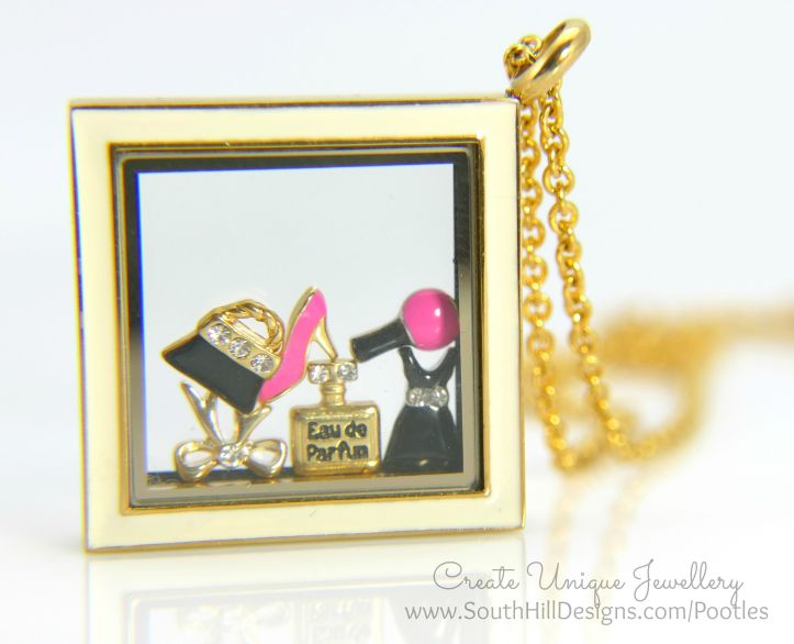 South Hill Designs - Gold and Pretties in a Diamond Close Up