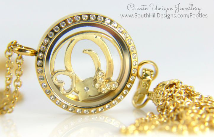 South Hill Designs - Gold Linkable Locket