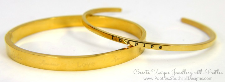 South Hill Designs Gold Love Bangle and Cuff