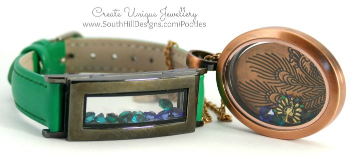 South Hill Designs - Peacock Blues and Bracelet Greens