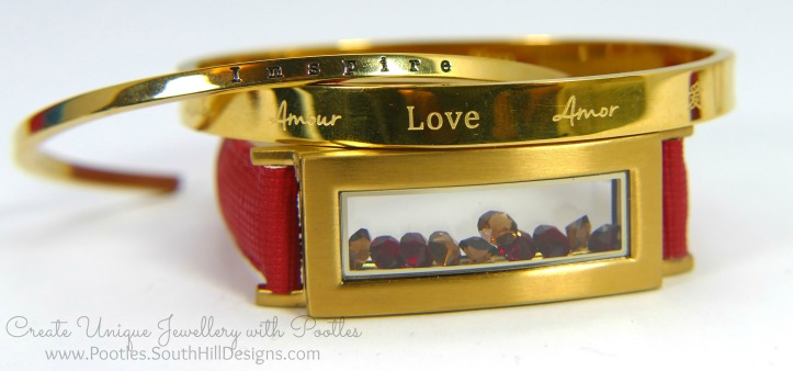 South Hill Designs & Stampin' Up! Sunday New Jewellery plus Bag Tutorial Bracelet and cuff