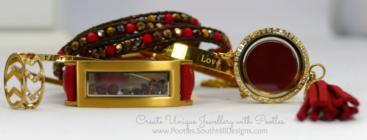 South Hill Designs & Stampin' Up! Sunday New Jewellery plus Bag Tutorial Reds