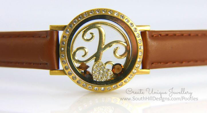 South Hill Designs - Autumnal Look Round Locket Bracelet