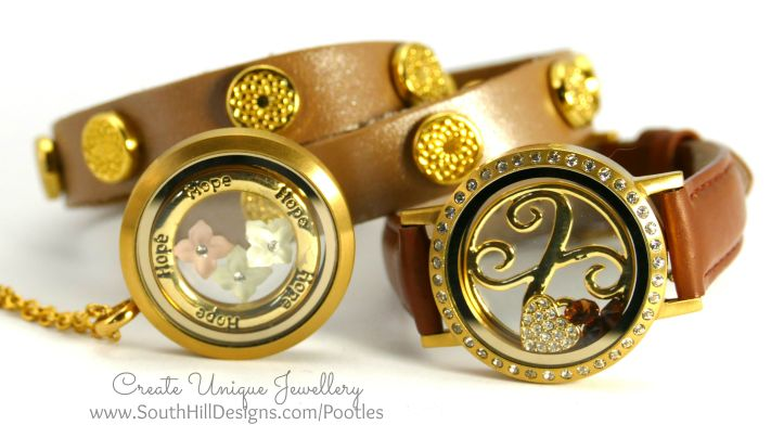 South Hill Designs - Autumnal Look with Matte Gold Locket