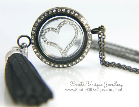 South Hill Designs - Black Heart and Leather
