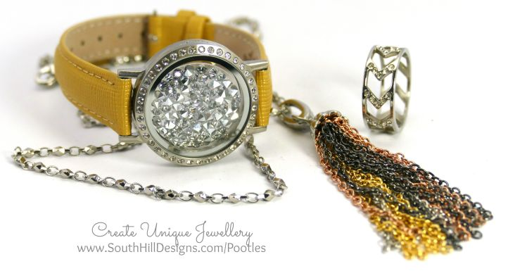 South Hill Designs - Stunning Locket Bracelet Full Look